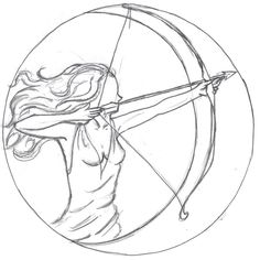 Artemis tattoo idea