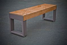 The Scratch Bench by AD Busch by buschdesign on Etsy, $390.00