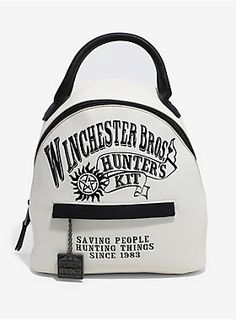 A hunting essential // Supernatural Winchester Bros. Hunters Kit Mini Backpack