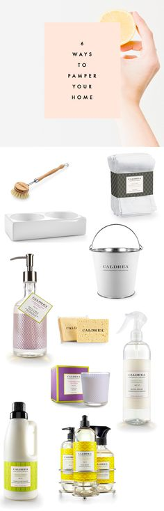 6 (really pretty) Ways to Pamper your Home (and make it smell amazingggg).