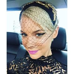We absolutely loved @katepeckme's #derbyday beauty look! Anyone else feeling inspired to try the bold eye / bold lip combo?! #findracing #melbcupcarnival