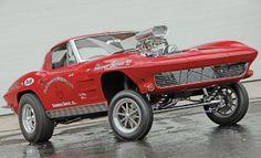 1963 Chevrolet Corvette straight-axle gasser