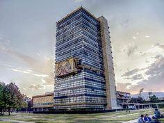 Rectoría de Ciudad Universitaria, México, Arq. Mario Pani