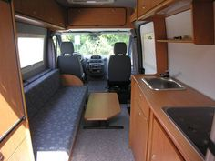 Image result for custom camper van fiat ducato Sprinter Camper, Benz Sprinter, Land Rover Defender, Motorhome, Trailers, Custom Camper Vans, Van Dwelling, Fiat Ducato, Portable House