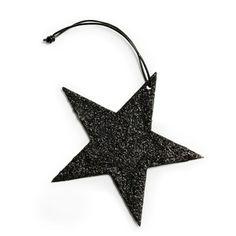Star Black glitter