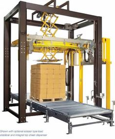 Muller High-Speed Auto Octopus S Series Stretch Wrap Equipment || NationWide Shelving || 801-328-8788