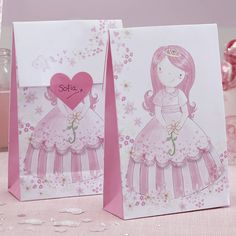 Pink Princess Party Bags
