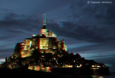 HYPERSTEREO - Mont Saint Michel (3D- anaglyph)