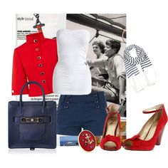 """Sailor Trend"" by laaudra-rasco on Polyvore"