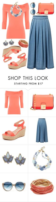 """Untitled #3073"" by emmafazekas ❤ liked on Polyvore featuring Michael Kors, Kate Spade, Carolee, Cutler and Gross and ABS by Allen Schwartz"