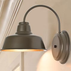 Barn Light Arlington Sconce  barnlightelectric.com  $140 and available in different colors
