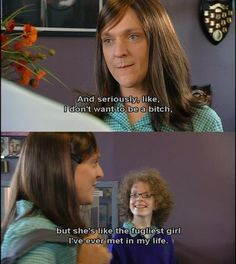 As Chris Lilley prepares to reprise the beloved Summer Heights High character in the new series Ja'mie: Private School Girl, let's take a moment to recall her words of wisdom. Funny Happy, The Funny, Chris Lilley, Summer Heights High, Private School Girl, Aussie Memes, Behind Every Great Man, Jamie King, Humor