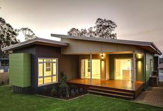 The Lisbon4 Bedrooms and 2 Bathrooms Prefab Modular Home