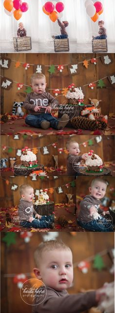 A great example of what we at HeartStrings call an Epic Cake Smash from Heidi Hope Photography