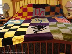 Harry Potter Crochet Blanket Pay Pattern pattern by SweetPeaCove