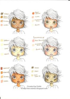 Skin Tone Combos | Letraset Blog - Creative Opportunities