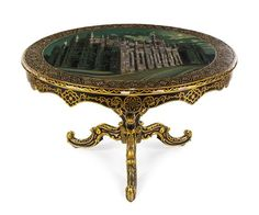 * A Victorian Mother-of-Pearl Inlaid and Japanned Tilt-Top Table | A Collector's Legacy: Decorative Arts from the Gerard L. Cafesjian Collection | October 12-13, 2015 in Chicago