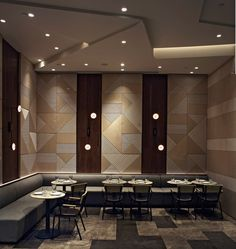 the restaurant takes advantages of its prestigious location and has been designed to redefine the boundaries between luxury dining and casual eat-outs.