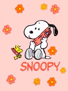 """Let's Keep in Touch, Call Me!"", Snoopy and Woodstock."