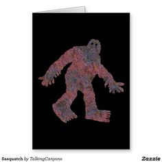 Sasquatch Greeting Card
