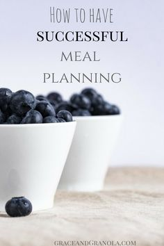 How to Prepare for Successful Meal Planning #mealplanning