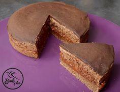 Szafi Free kalóriaszegény sacher torta (gluténmentes, tejmentes, tojásmentes, HCLF vegán, olajmentes) ~ Éhezésmentes Karcsúság Szafival