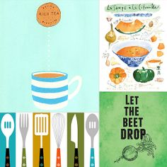 kitchen art prints - The Easiest Way to Upgrade Your Kitchen This Fall