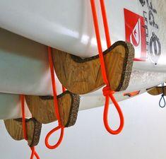 wooden surfboard rack - Google Search