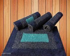 Doormats & Bath Mats Trendy Stylish Door Mats Material: Cotton Multipack: 4 Sizes: Free Size (Length Size: 24 cm Width Size: 16 cm)  Country of Origin: India Sizes Available: Free Size   Catalog Rating: ★3.8 (406)  Catalog Name: Trendy Stylish Door Mats CatalogID_833347 C55-SC1118 Code: 803-5571103-906