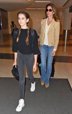 Kaia Gerber & Cindy Crawford from The Big Picture: Today's Hot Pics | E! Online
