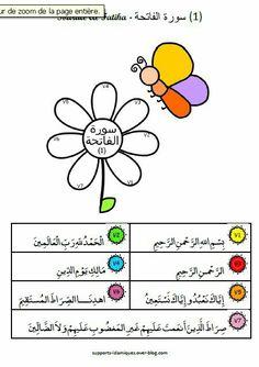 أوراق عمل سورة الفاتحة للأطفال | تفسير القرآن الكريم ...