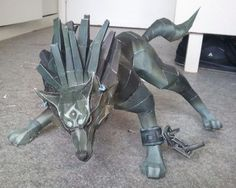 Paper's Juke: Papercraft Link Wolf - Twilight princess WHAT HOW
