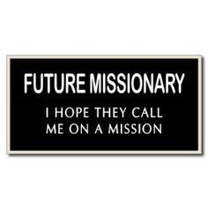 Mormon Share Missionary Tag
