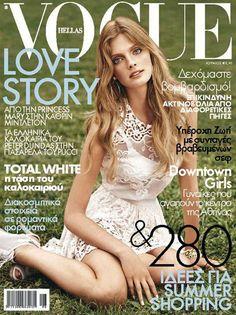 Constance Jablonski for Vogue Hellas June 2011
