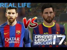 Dream League Soccer Faces : Dream League Soccer 2016 VS Dream League Soccer 2017 - YouTube