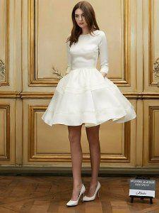 {Look de mariée} 10 robes de mariée forme patineuse - Robe Delphine Manivet
