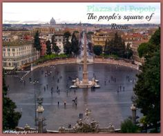 What to See While in Rome: Piazza del Popolo