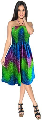 New La Leela Short Tube Dress Swimsuit Swimwear Cover up Beach Wear Halter Neck Maxi Sundress online. Perfect on the by the way. Dresses from top store. Sku btzq94474yxjr84785