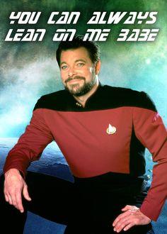 Star Trek Valentines: Commander William Riker