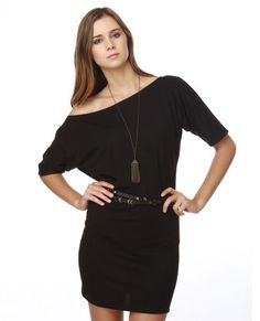 Lamixx Off the Shoulder Black Dress  Hippie LBD