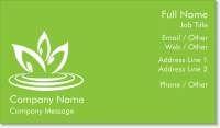blossom flower Spot Gloss Business Cards