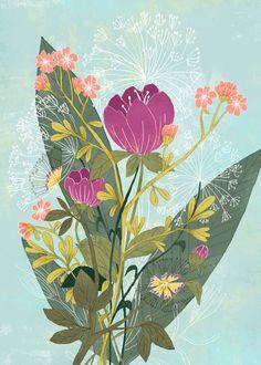 Flowers 2 on Behance by Sveta Shendrik