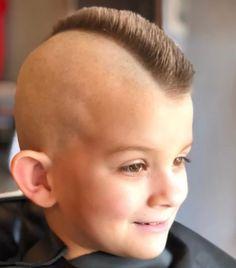 Kids Hairstyles Boys, Boy Hairstyles, V Hair, Hair Art, Faux Hawk, Boys Mohawk, Barber Shop Haircuts, Little Boy Haircuts, Cooler Style
