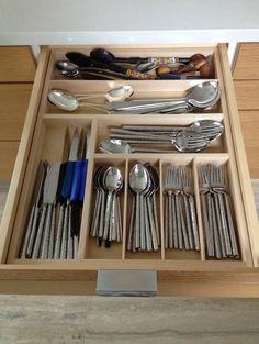flatware/silverware/cutlery drawer insert -- Orderly Drawer Cody template