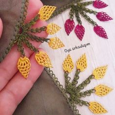 Custom Design Needle Lace Examples Source by Beach Crochet, Knit Crochet, Saree Kuchu Designs, Crochet Bedspread, Needle Lace, Knitted Shawls, Baby Knitting Patterns, Knitting Socks, Crochet Designs