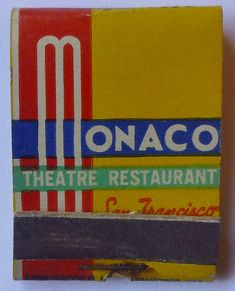 MONACO THEATRE RESTAURANT SAN FRANCISCO CA. | Flickr - Photo Sharing!