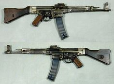 StG 44 (Sturmgewehr 44) 7.92×33mm Assault Rifle - Is a German Selective-Fire Rifle and is Considered to be the First Modern Assault Rifle Made - 425,977 Produced Between (1942-1945)