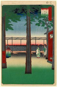 第10景 神田明神曙之景 安政4年(1857)9月