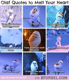 Olaf Will Melt Your Heart…