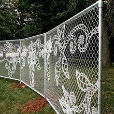 Fab fence art